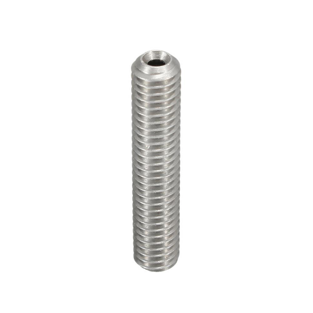 3d-printer-accessories 3PCS M6X30 1.75mm Thread Nozzle Throat with Teflon for 3D Printer Extruder Accessory HOB1211315 2 1