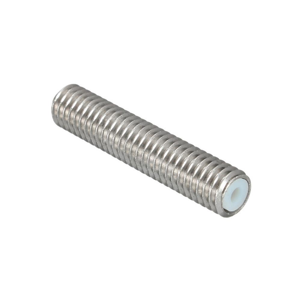 3d-printer-accessories 3PCS M6X30 1.75mm Thread Nozzle Throat with Teflon for 3D Printer Extruder Accessory HOB1211315 3 1