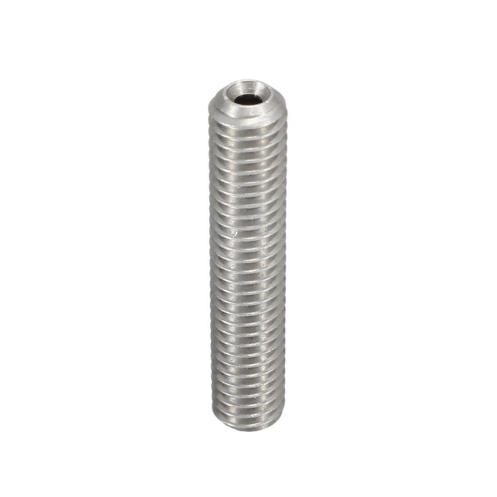 3d-printer-accessories 5PCS M6X30 1.75mm Thread Nozzle Throat with Teflon for 3D Printer Extruder Accessory HOB1211316 3 1