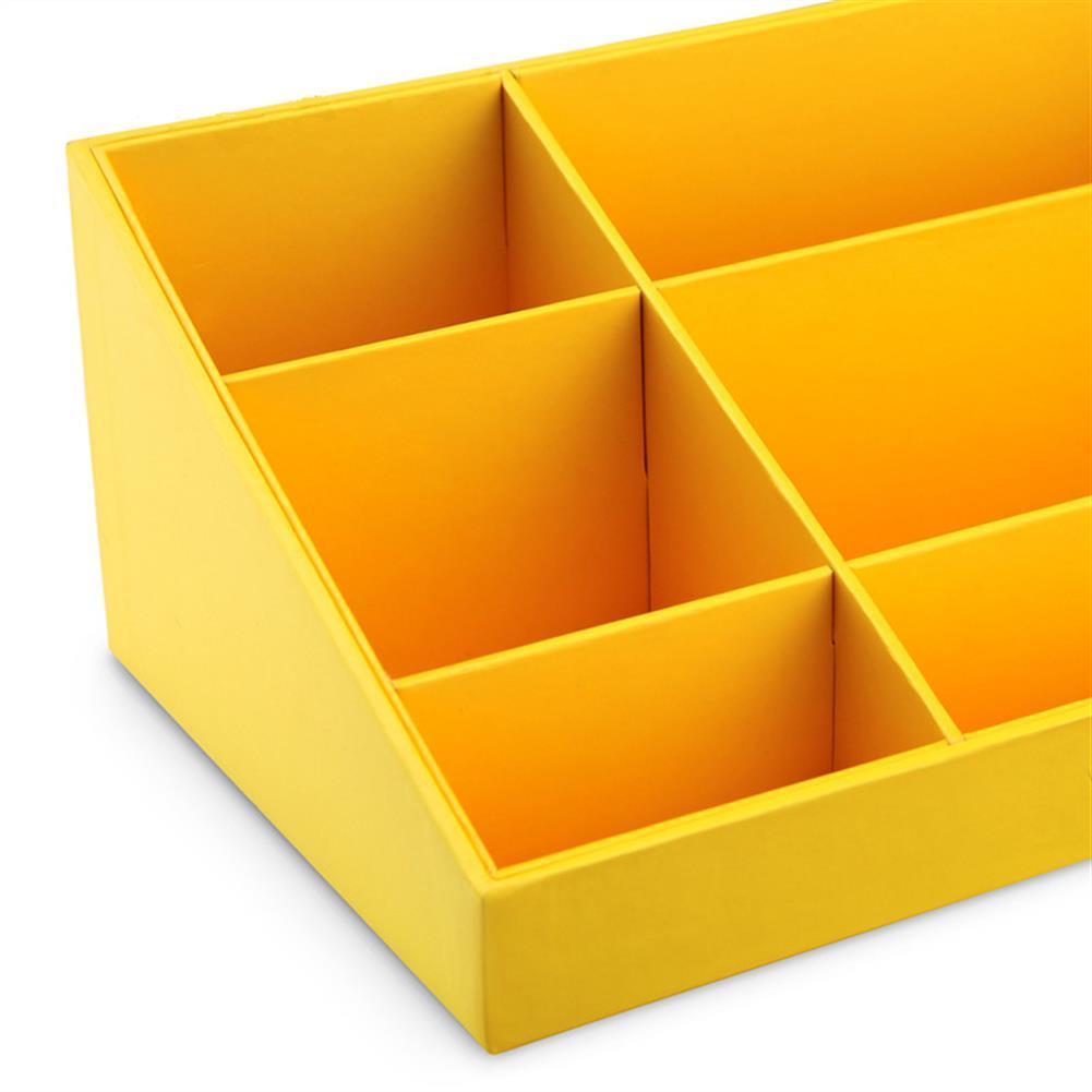 desktop-off-surface-shelves VPACK Storage Box Desk Organizer Stationery Storage Pen Holder 6 Color office School Supplies HOB1218749 2 1
