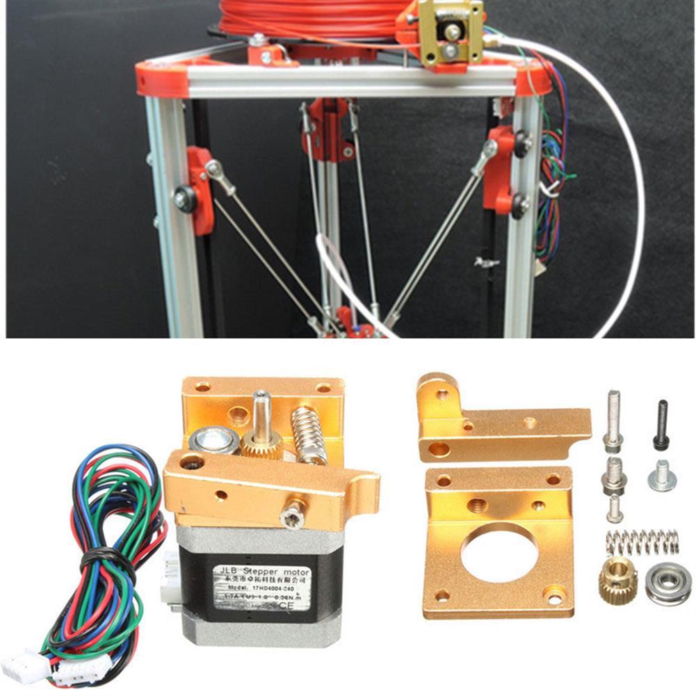 3d-printer-accessories Mini MK8 Aluminum Extruder Left Bracket with 42 Stepping Motor for 3D Printer Bowden Rostock HOB1220156 1