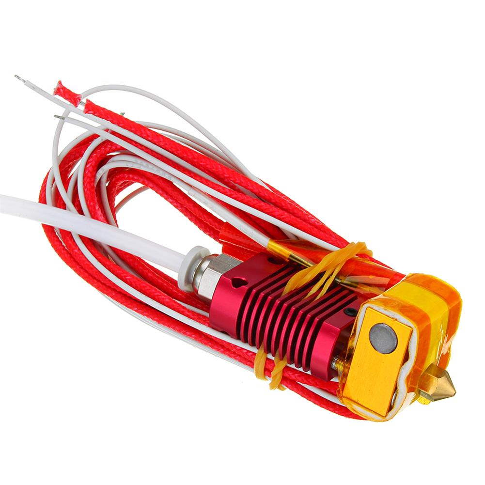 3d-printer-accessories MK10 Assembled Extruder Hot End Kit 1.75mm 0.4mm Nozzle for Creality 3D CR-10 HOB1221319 1 1