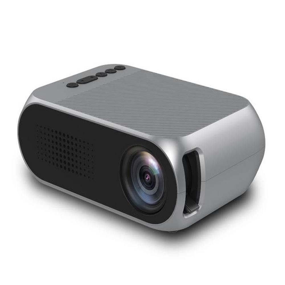 projectors-theaters YG-320 Mini 400Lumens 320*240 LED Portable Projector Home theater UK/AU/EU/US Plug HOB1227668 1 1
