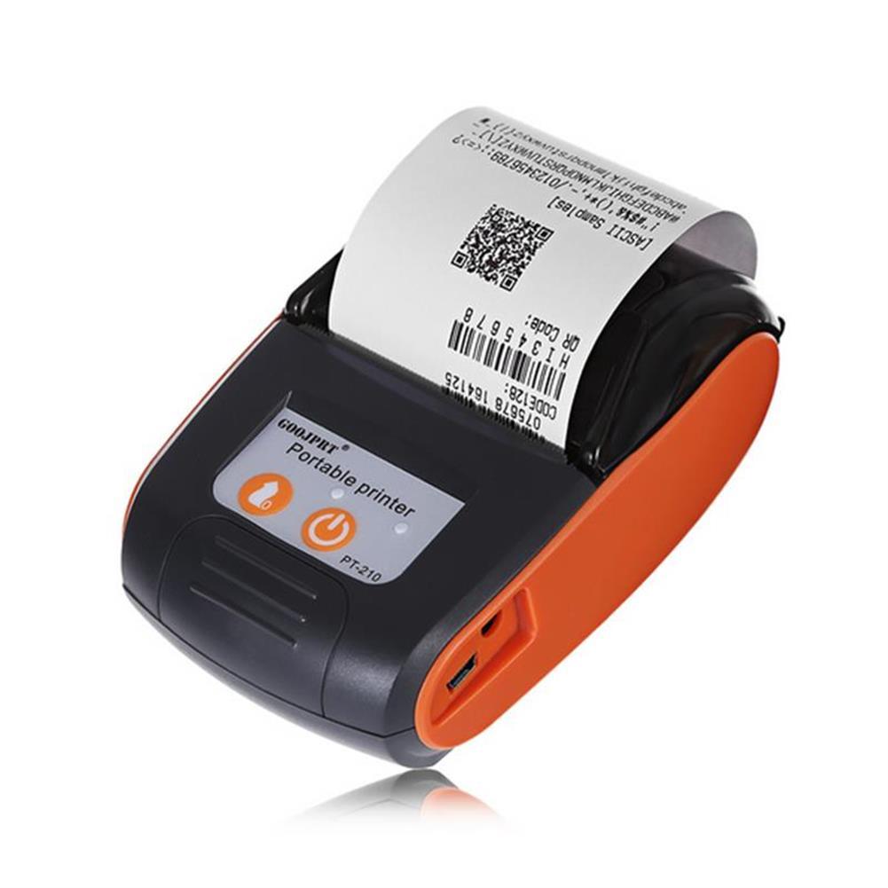 printers GOOJPRT PT-210 58MM Wireless Portable bluetooth thermal Receipt Printer Machine for Windows Android iOS HOB1234296 1