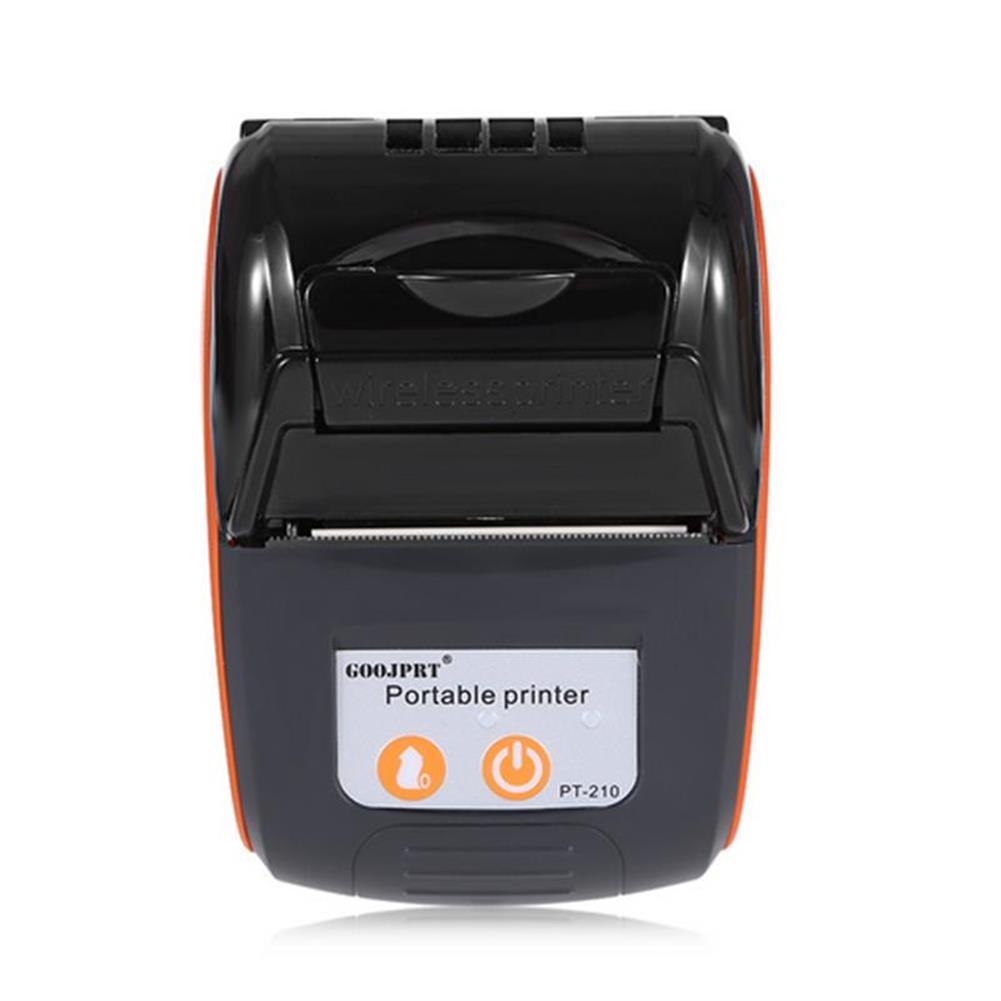 printers GOOJPRT PT-210 58MM Wireless Portable bluetooth thermal Receipt Printer Machine for Windows Android iOS HOB1234296 1 1