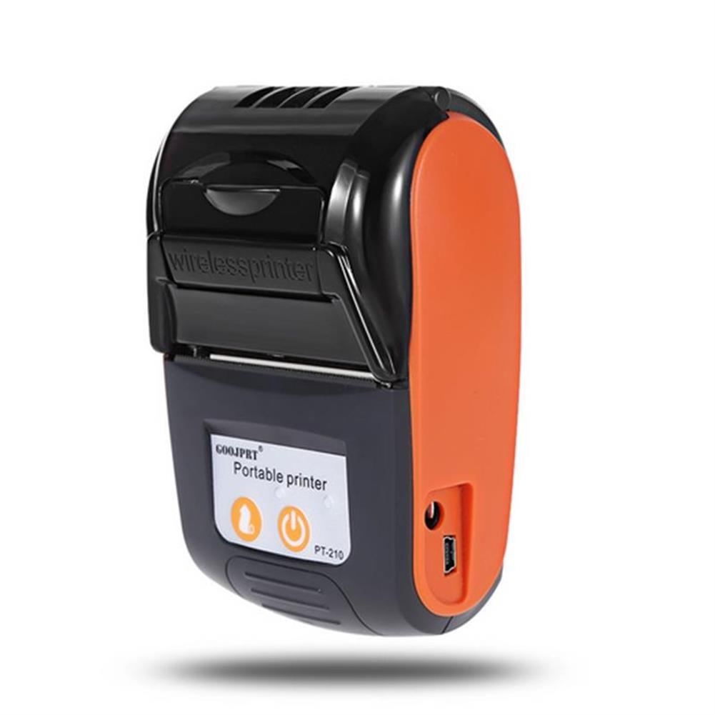 printers GOOJPRT PT-210 58MM Wireless Portable bluetooth thermal Receipt Printer Machine for Windows Android iOS HOB1234296 2 1