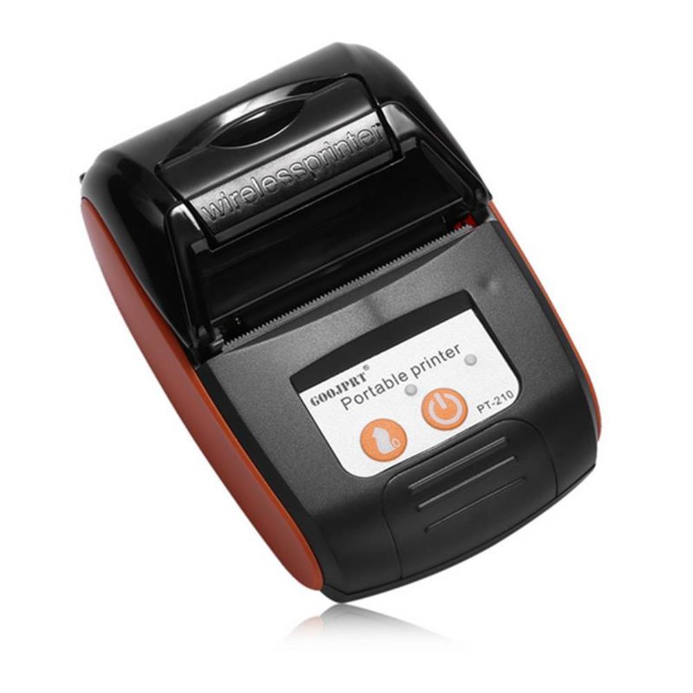 printers GOOJPRT PT-210 58MM Wireless Portable bluetooth thermal Receipt Printer Machine for Windows Android iOS HOB1234296 3 1