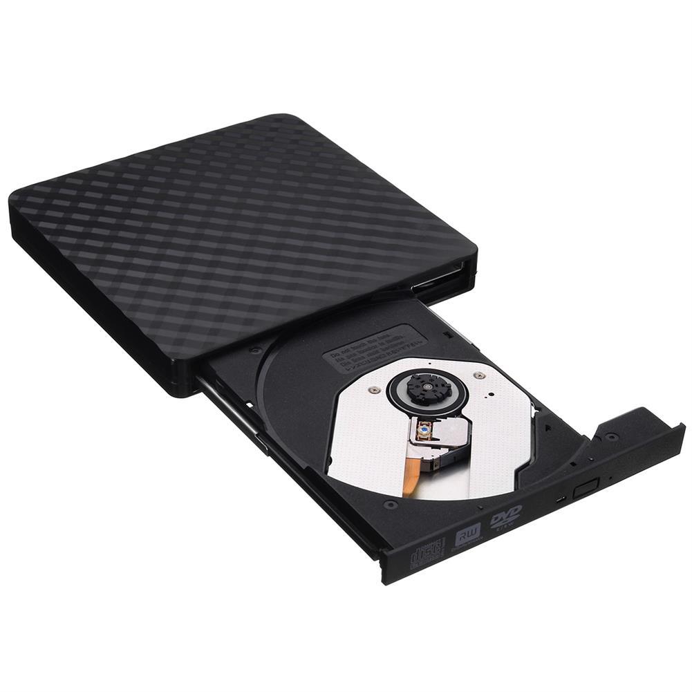 optical-drives Ultra-Thin External USB 3.0 8X CD DVD Player Recorder Writer Optical Drive HOB1236420 1