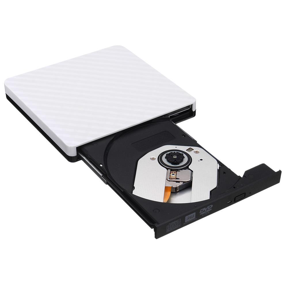 optical-drives Ultra-Thin External USB 3.0 8X CD DVD Player Recorder Writer Optical Drive HOB1236420 1 1