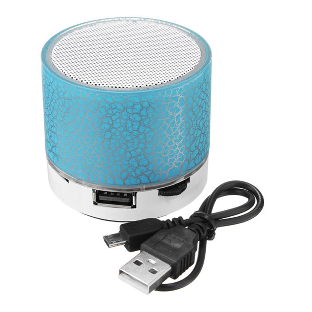 tablet-speakers-earphones Mini Portable Wireless bluetooth Hifi Bass Stereo Speaker MIC TF USB LED HOB1237458 1