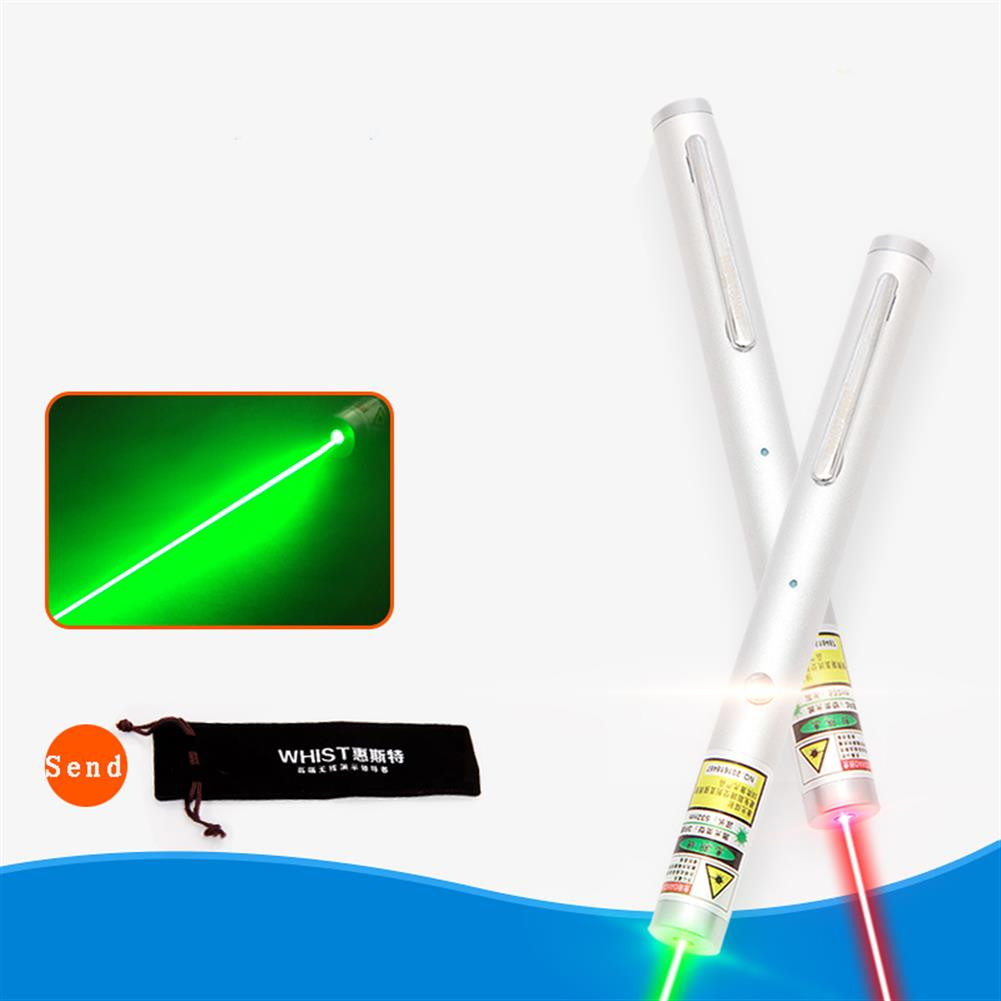 laser-pointer H6 Laser Pointer Light Pen for Projector Green and Red USB Long-lasting Laser Pen Long-lasting HOB1241993 1 1