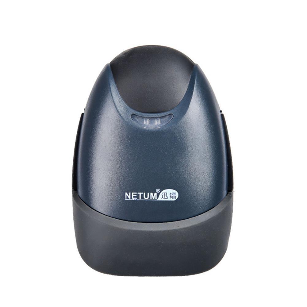 scanners NETUM Wireless Barcode Scanner Red Light CCD Laser Handheld Scaner Reader for Warehouse Book Film HOB1248358 1 1