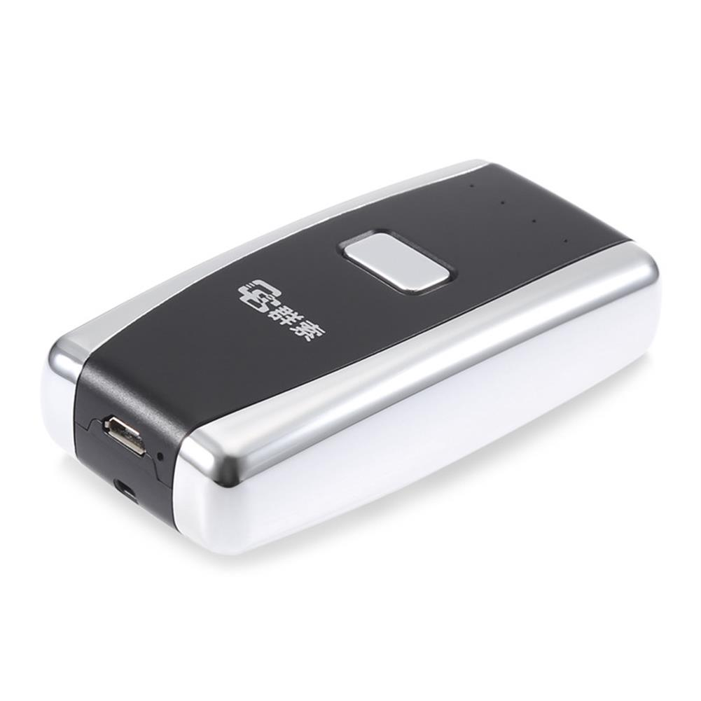scanners QS S01 Red Light Mini Wireless bluetooth 4.0 Barcode Scanner USB Rechargeable Support iOS Android HOB1250212 2 1
