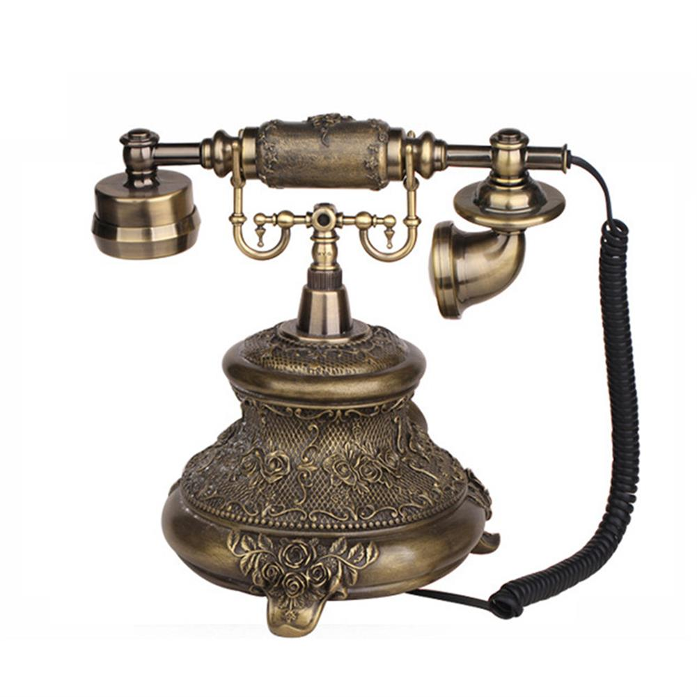 attendance-machine Telephone Landline Corded Phone Vintage Antique Style Old Fashioned Retro Home office Decoration HOB1262331 1 1