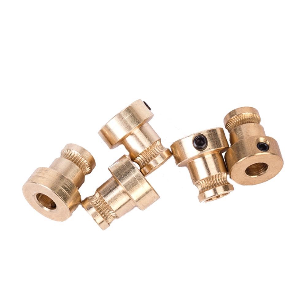 3d-printer-accessories FLSUN 5PCS 1.75mm Brass Feed Extruder Wheel Drive Gear for Reprap 3D Printer HOB1263951 1 1