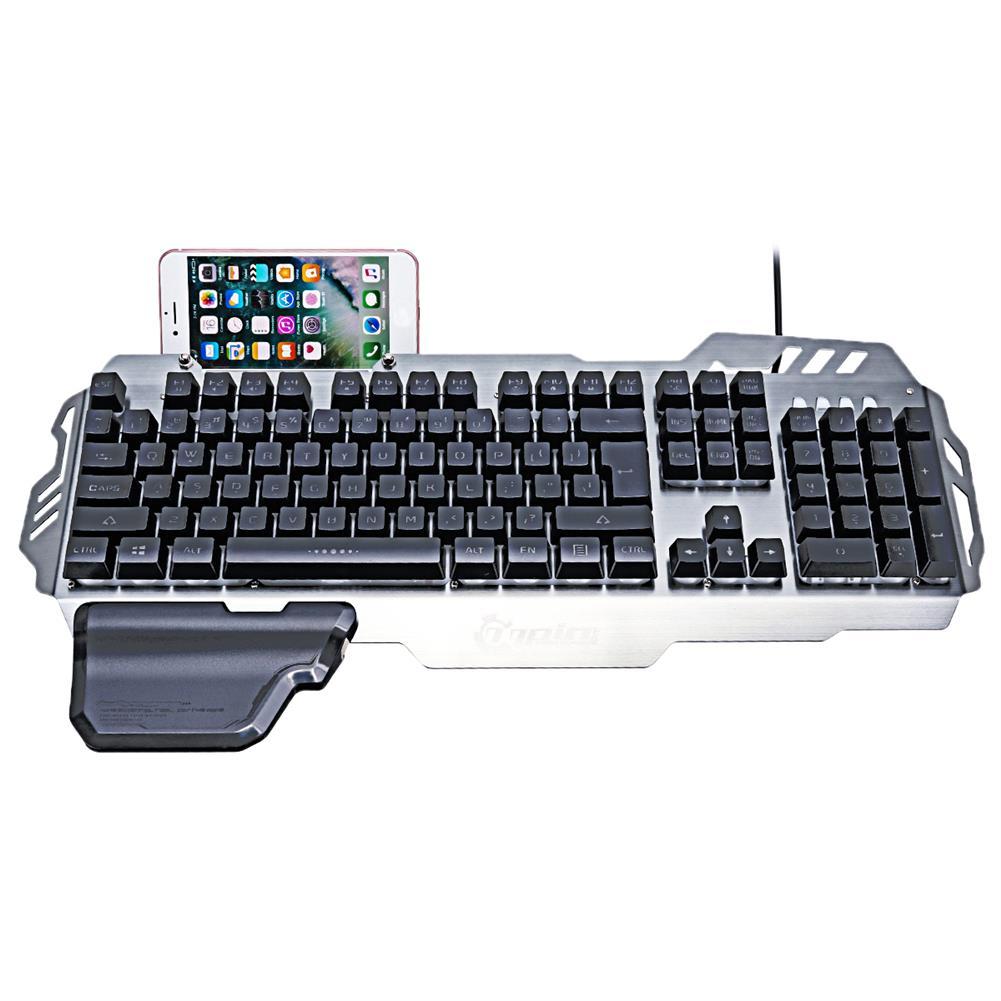 keyboards PK-900 104 Keys USB Wired Backlit Mechanical-Handfeel Gaming Keyboard HOB1265024 1