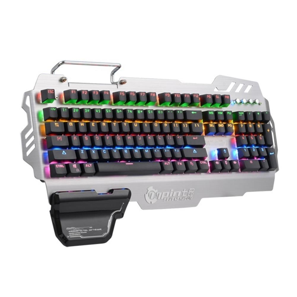 mechanical-gaming-keyboard PK-900 104 Keys NKRO CIY Blue Switch Colorful Backlit Mechanical Gaming Keyboard HOB1267425 1 1