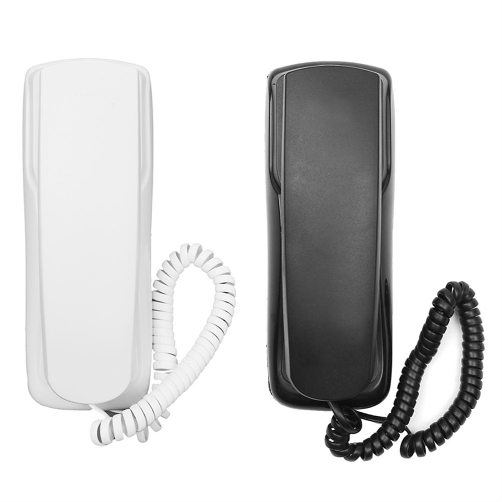 attendance-machine 1Pcs 48V Standard Phone Corded Telephone Analog Desk Wall Mount Flash Redial for office Home HOB1273402 1