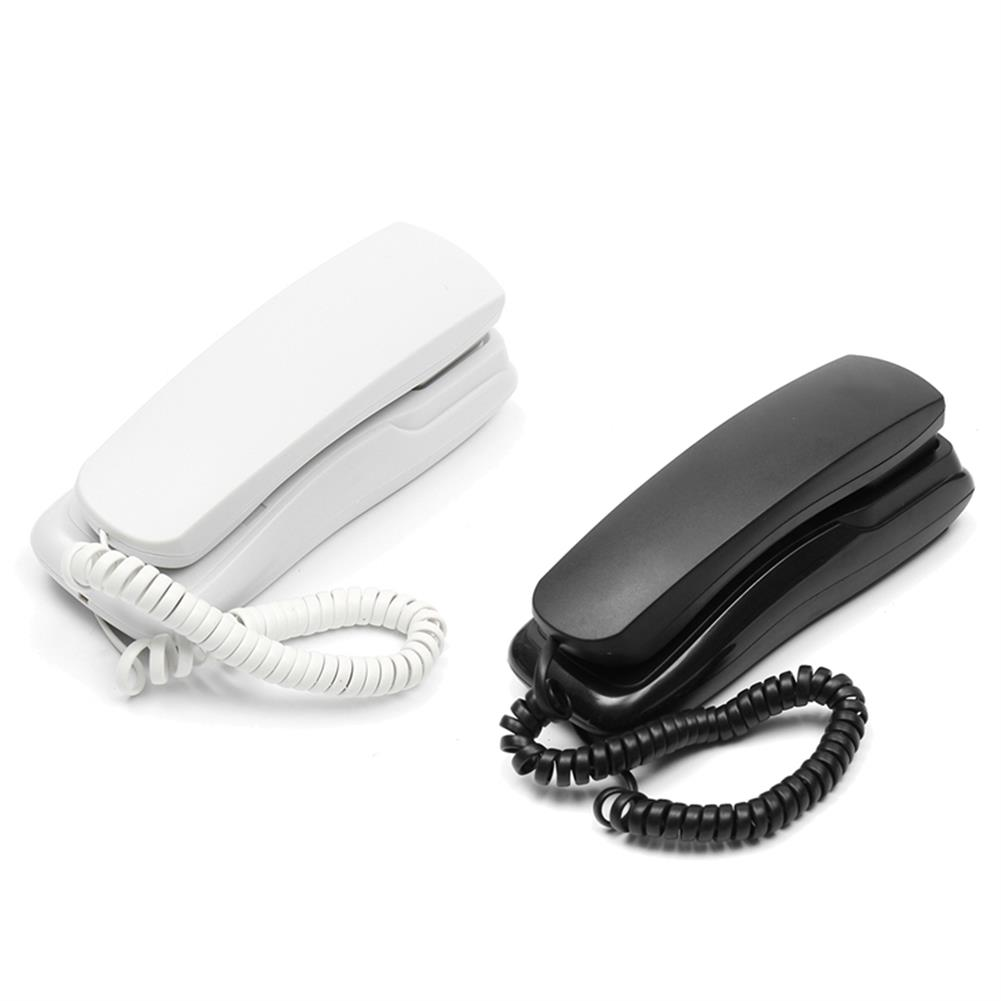 attendance-machine 1Pcs 48V Standard Phone Corded Telephone Analog Desk Wall Mount Flash Redial for office Home HOB1273402 1 1