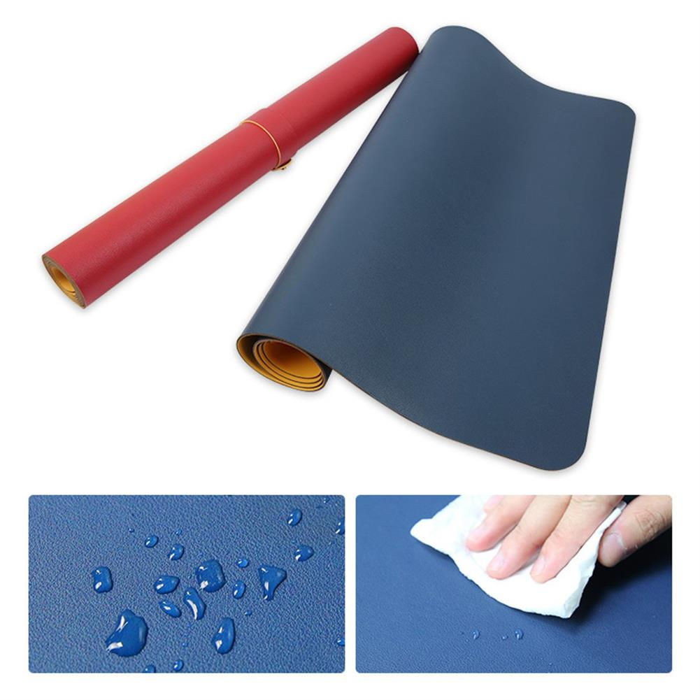 mouse-pads-keyboards-mouse 120x60cm Both Sides 2 Colors PU leather Mouse Pad Mat Large office Gaming Desk Mat HOB1273777 1 1