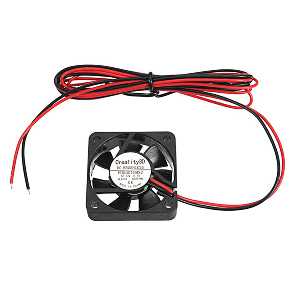 3d-printer-accessories Creality 3D 40*40*10mm 12V High Speed DC Brushless 4010 Cooling Fan for 3D Printer CR-10 HOB1279196 1