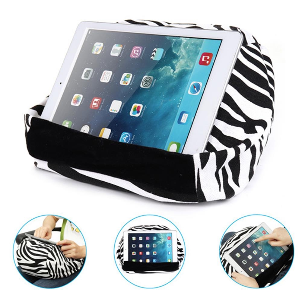 tablet-stands Universal Soft Canvas Reading Tablet iPad Lazy Pillow Stand Cellphone Holder HOB1286614 1