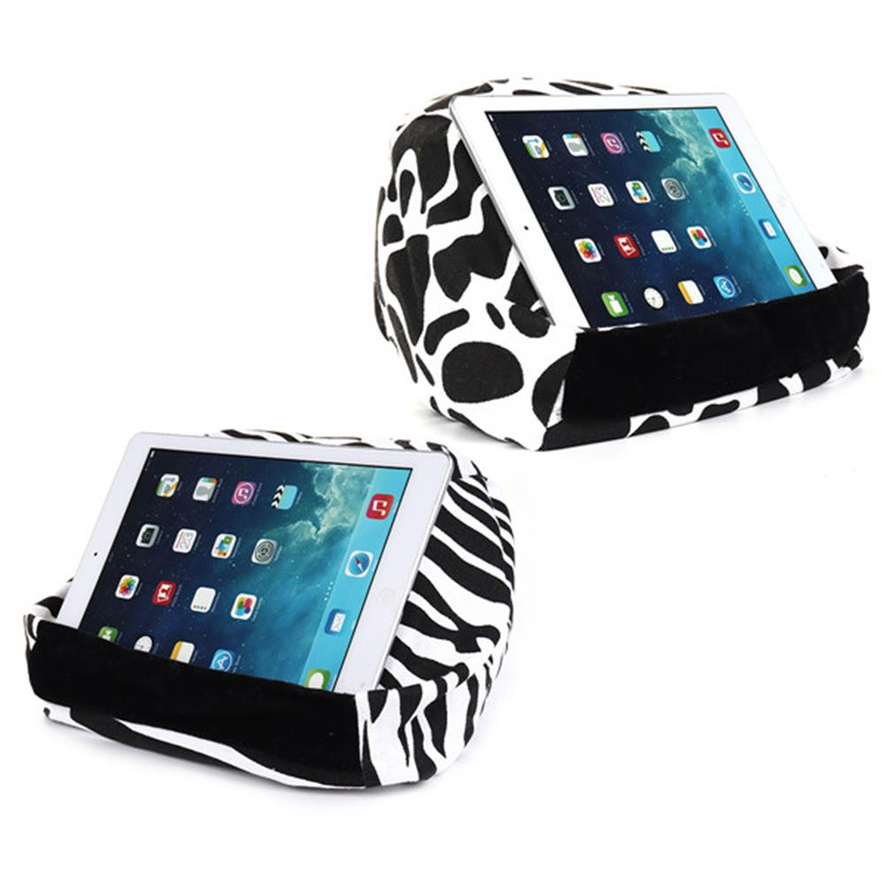 tablet-stands Universal Soft Canvas Reading Tablet iPad Lazy Pillow Stand Cellphone Holder HOB1286614 1 1