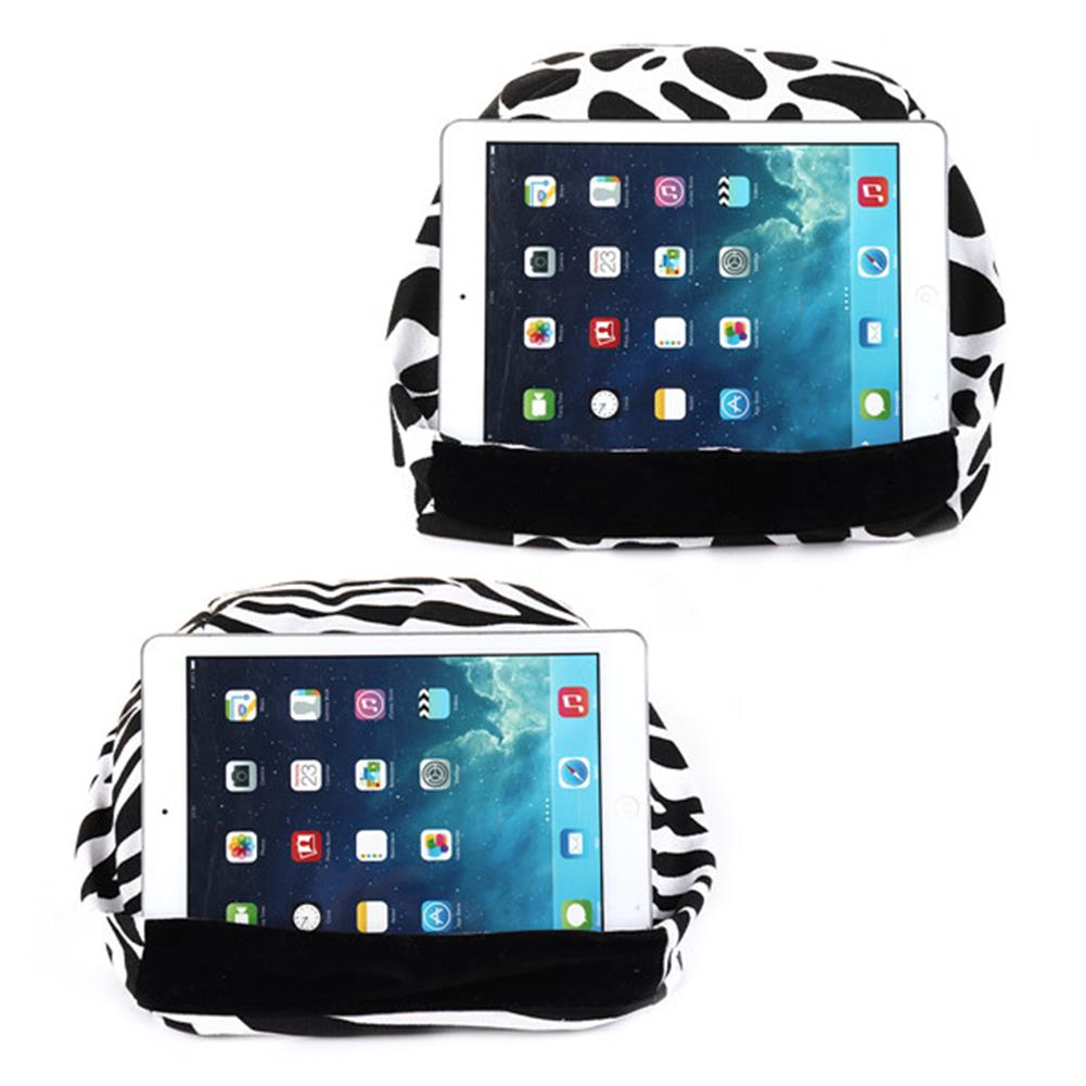 tablet-stands Universal Soft Canvas Reading Tablet iPad Lazy Pillow Stand Cellphone Holder HOB1286614 2 1