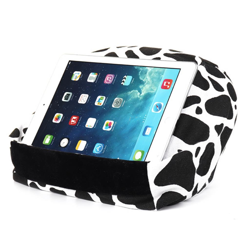 tablet-stands Universal Soft Canvas Reading Tablet iPad Lazy Pillow Stand Cellphone Holder HOB1286614 3 1