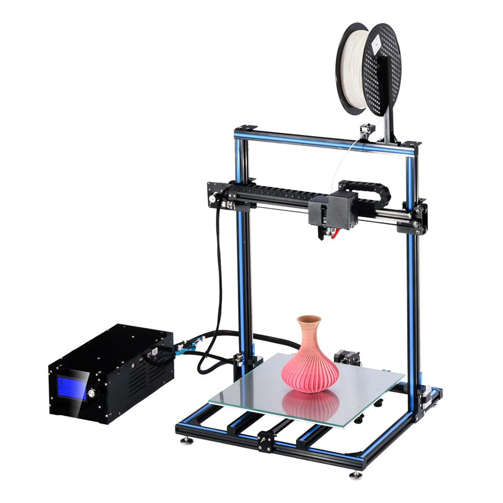 3d-printer ADIMLab I3 Plus 3D Printer DIY Kit 310*310*410 Large Printing Size with Dual Track Printing HOB1292380 1