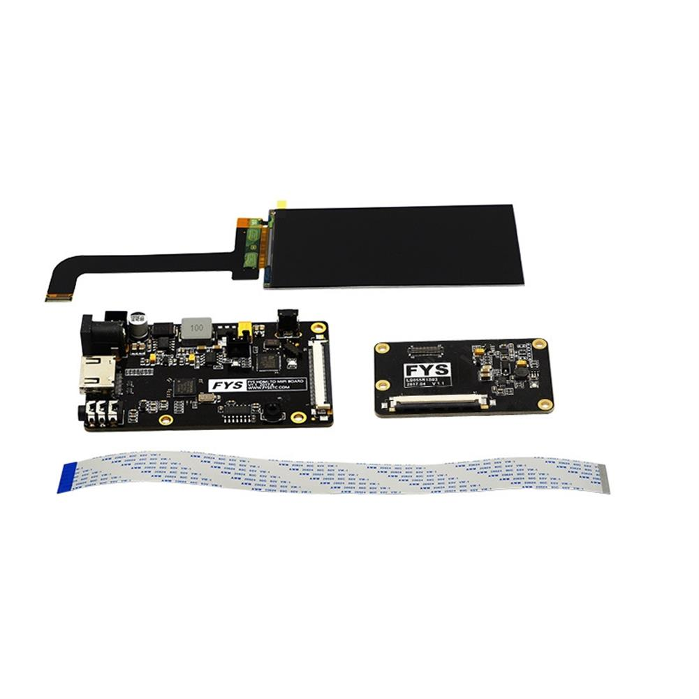 3d-printer-accessories 5.5inch 2K LS055R1SX03 LCD Screen Display Module with HDMI MIPI Driver Board for VR LCD WANHAO Duplicator 7 SLA 3D Printer / VRr HOB1293062 1 1