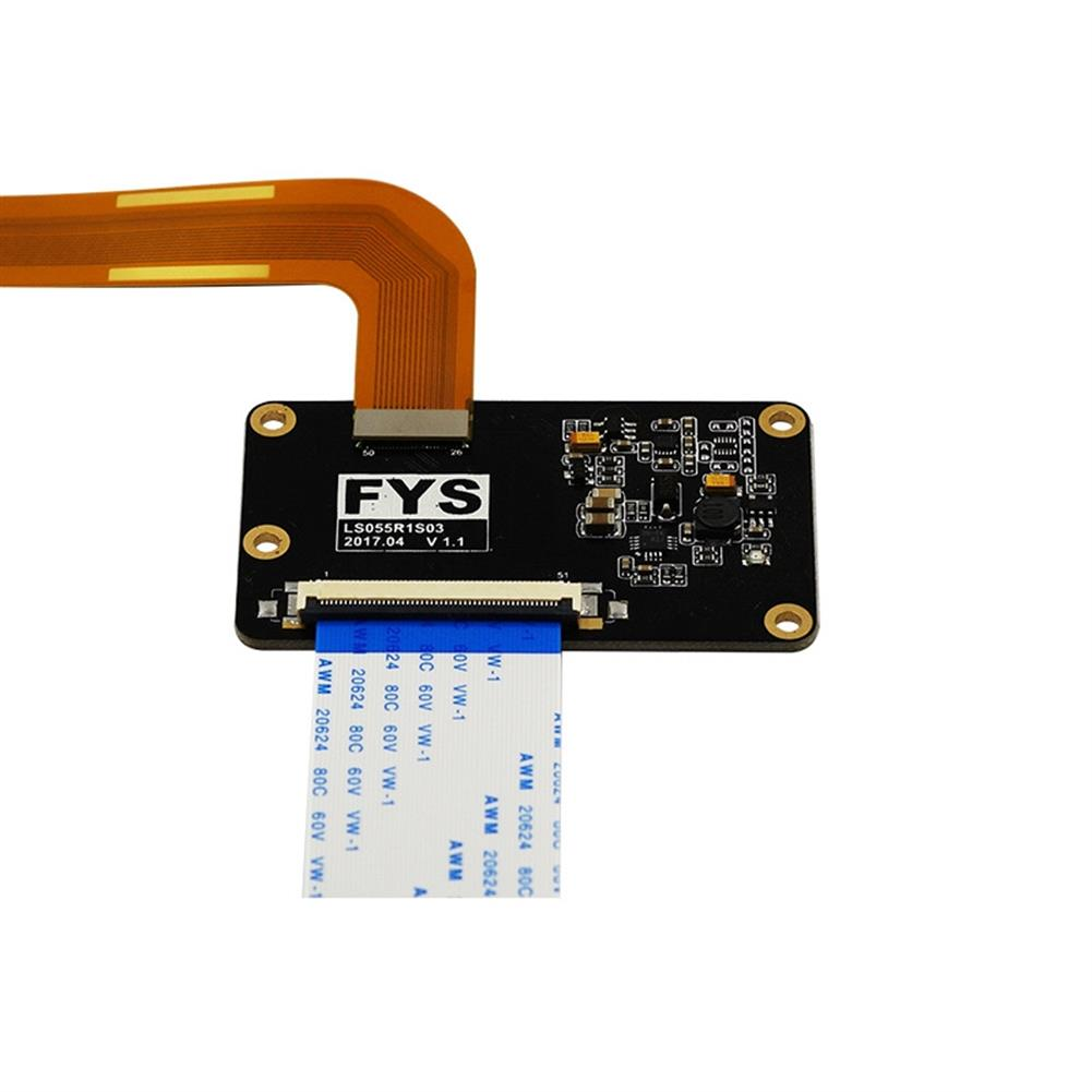 3d-printer-accessories 5.5inch 2K LS055R1SX03 LCD Screen Display Module with HDMI MIPI Driver Board for VR LCD WANHAO Duplicator 7 SLA 3D Printer / VRr HOB1293062 3 1