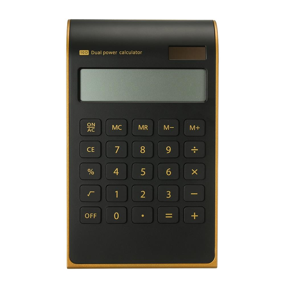 calculator Electronic Solar Dual Power Calculator Ultra Thin 10 Digits Standard Function for office School Use HOB1307527 3 1