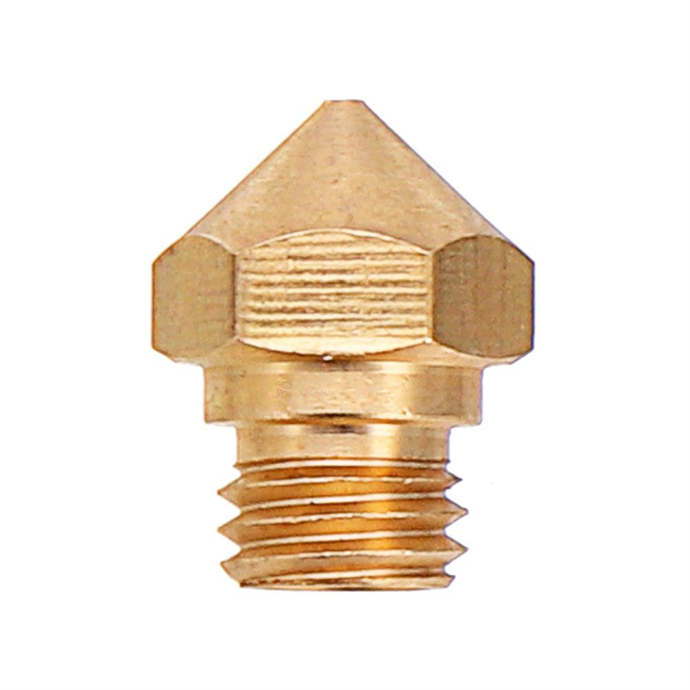 3d-printer-accessories M7 Screw Thread 0.4/0.6/0.8/1.0mm 1.75mm MK10 Copper Nozzle with Number Lettering HOB1312039 2 1