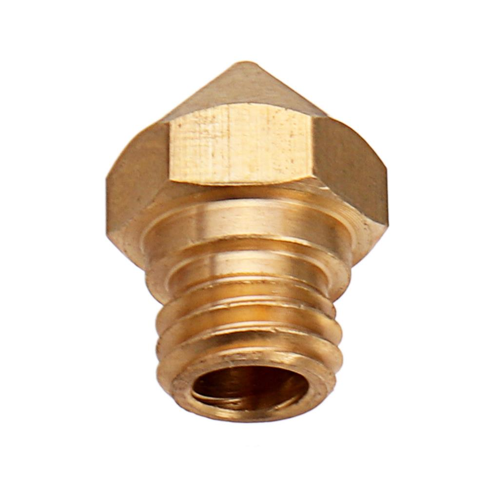 3d-printer-accessories M7 Screw Thread 0.4/0.6/0.8/1.0mm 1.75mm MK10 Copper Nozzle with Number Lettering HOB1312039 3 1