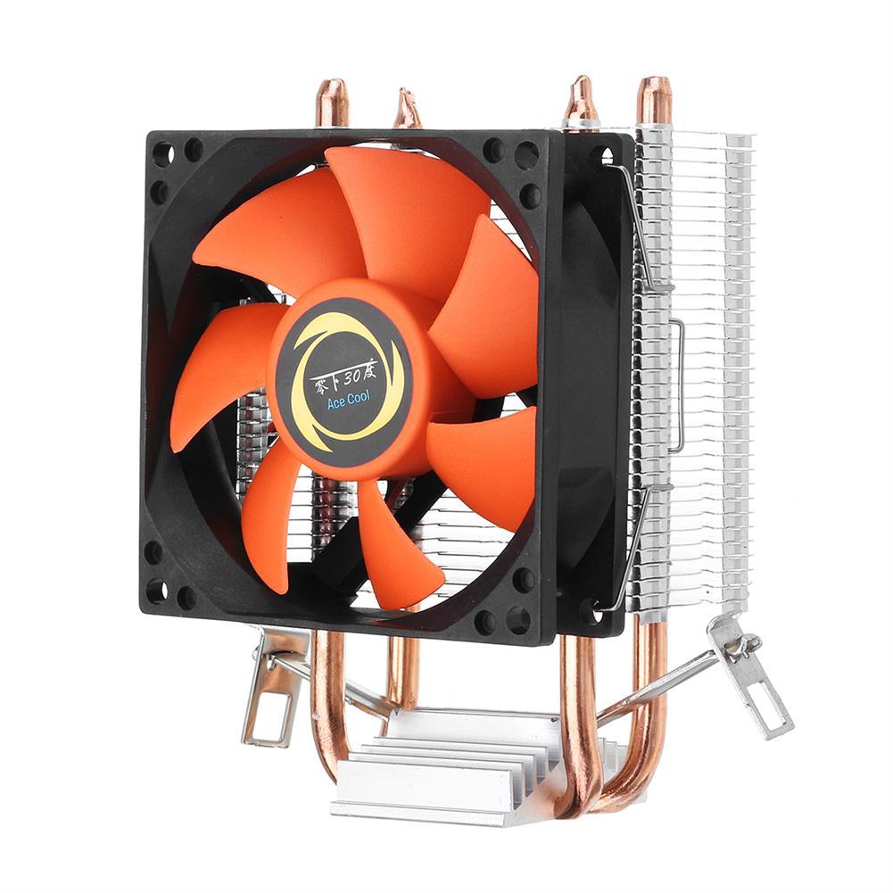 fans-cooling DC 12V 3Pin 80mm 1800RPM CPU Cooling Fan Heatsink for intel AMD Socket HOB1316689 1