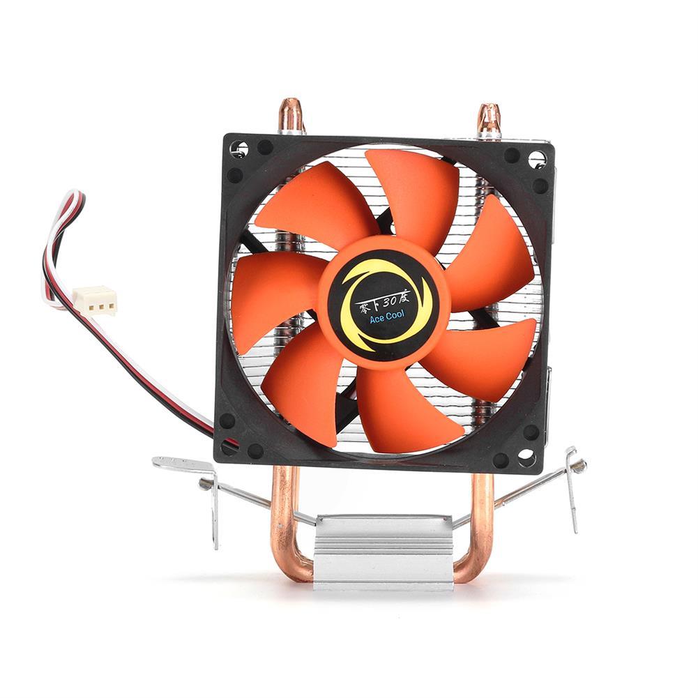 fans-cooling DC 12V 3Pin 80mm 1800RPM CPU Cooling Fan Heatsink for intel AMD Socket HOB1316689 1 1