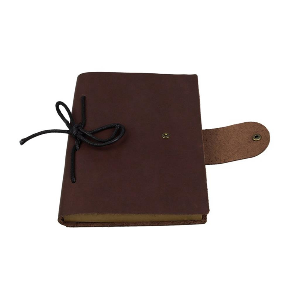 paper-notebooks 1Pcs Vintage Kraft Paper Notebook Leather Diary Journals Notepad School office Student Stationery Supplies HOB1329862 3 1