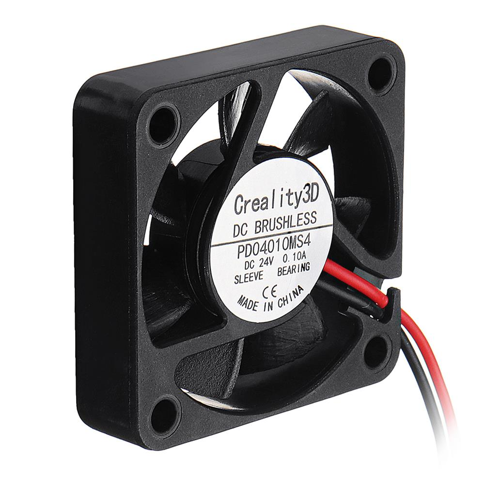 3d-printer-accessories Creality 3D 40*40*10mm 24V High Speed DC Brushless 4010 Cooling Fan for Ender-3 3D Printer HOB1335991 3 1