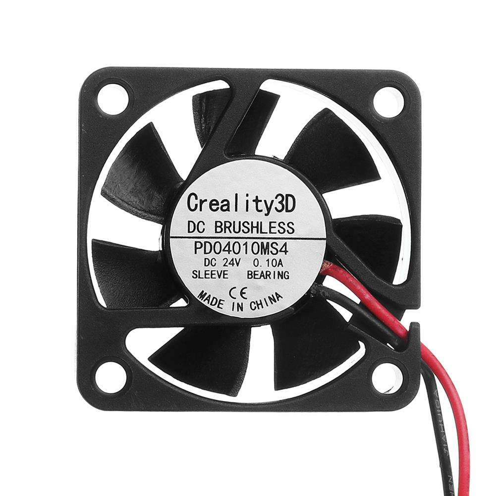 3d-printer-accessories Creality 3D 40*40*10mm 24V High Speed DC Brushless 4010 Nozzle Cooling Fan for 3D Printer Ender-3 HOB1336996 2 1