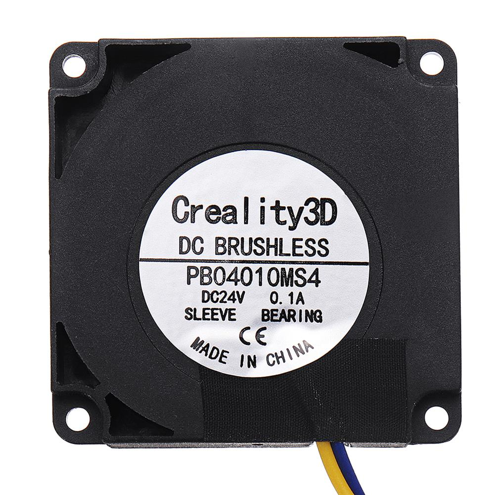 3d-printer-accessories Creality 3D 40*40*10mm DC24V 0.1A High Speed DC Brushless 4010 Blower Nozzle Cooling Fan for Ender Series 3D Printer HOB1337387 3 1