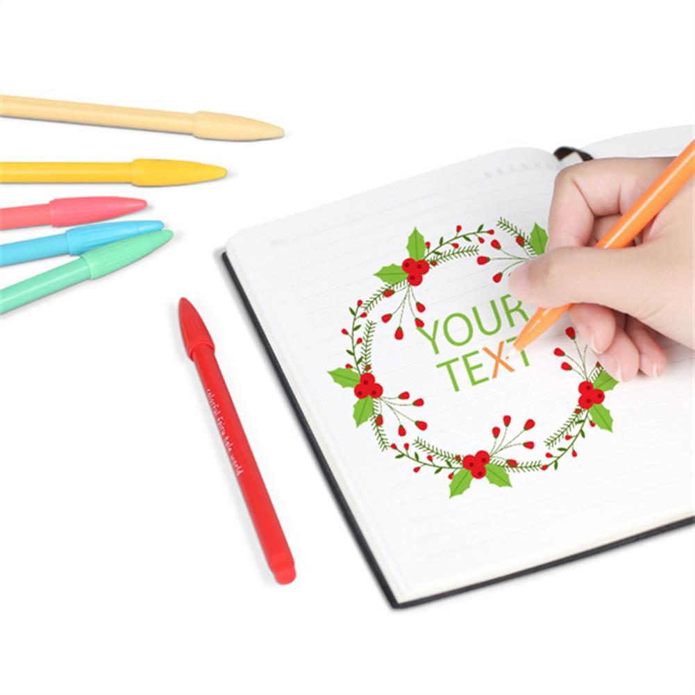 gel-pen 36 Color Gel Pens Hand Account Hook Line Pen Stationery office School Supplies Drawing Graffiti HOB1338029 1 1