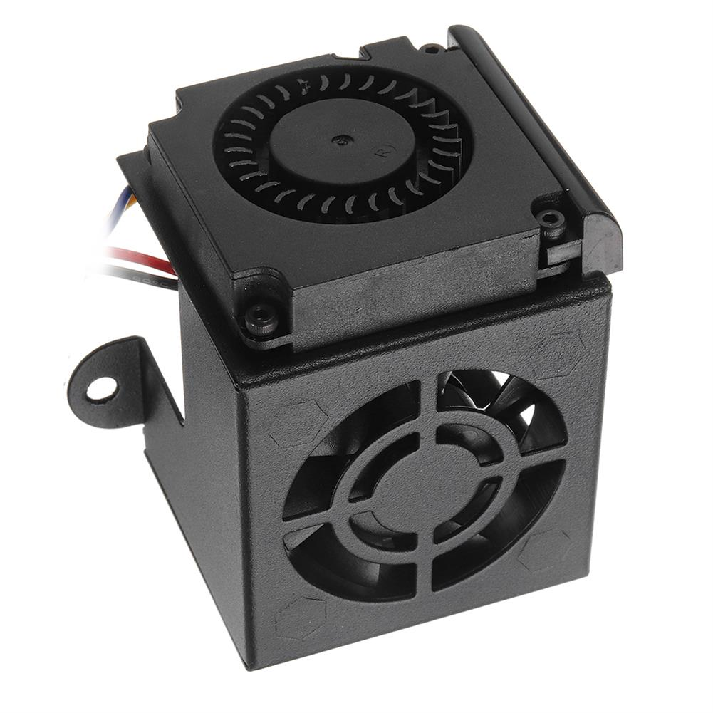 3d-printer-accessories Creality 3D Full Assembled MK10 Extruder Hot End Kits with 2PCS Cooling Fans for Ender-3 3D Printer HOB1339704 3 1