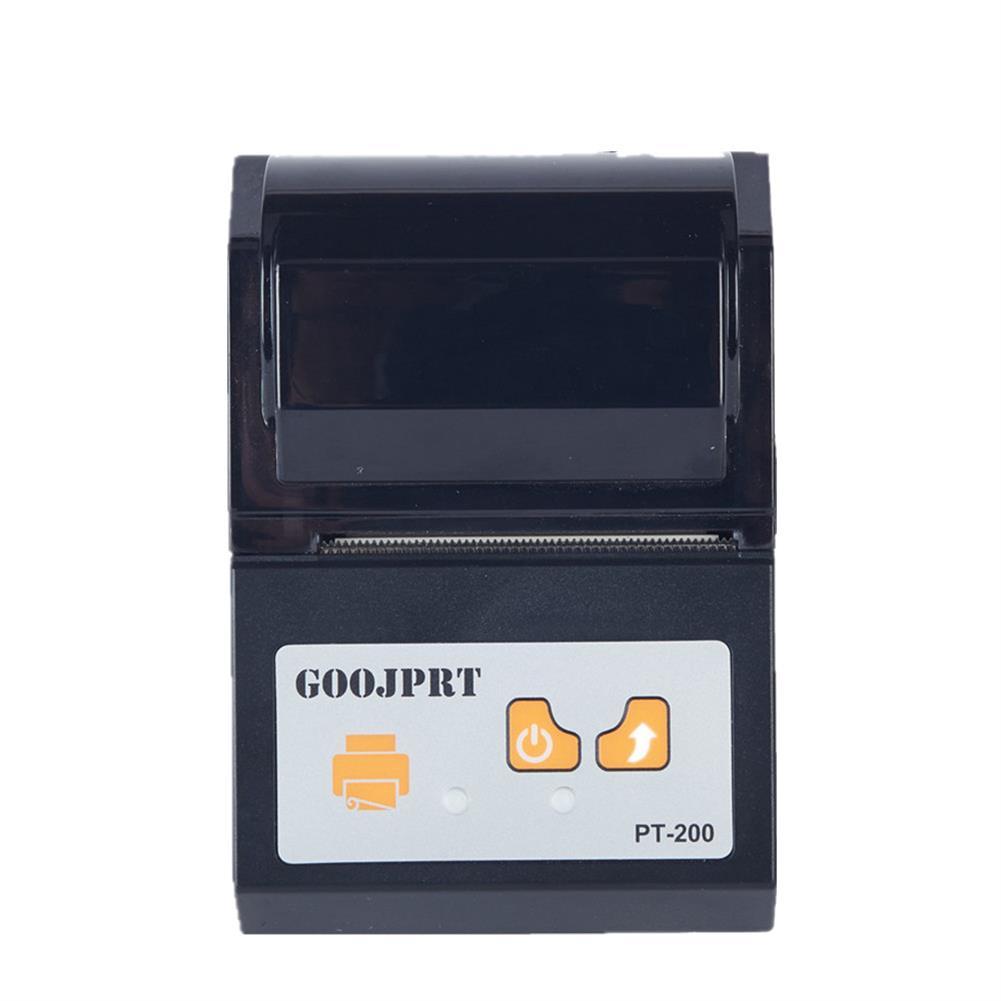 printers GOOJPRT PT-200 Printer 58mm Wireless bluetooth thermal Receipt Printer Printing Machine for Android Apple iOS HOB1347894 1 1