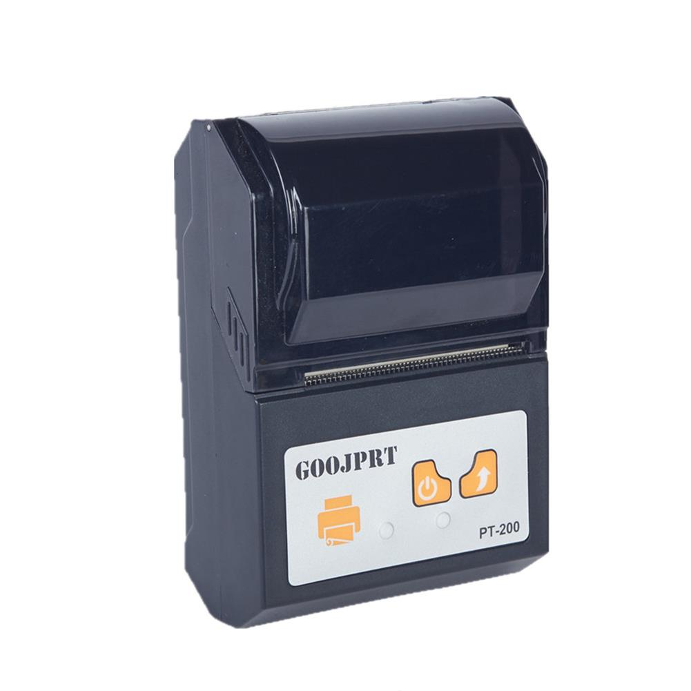 printers GOOJPRT PT-200 Printer 58mm Wireless bluetooth thermal Receipt Printer Printing Machine for Android Apple iOS HOB1347894 2 1