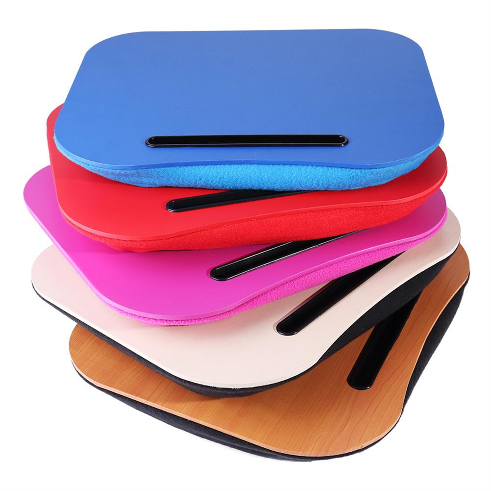 tablet-stands Portable Cushioned Laptop Desk Tray Table Outdoor Learning Desk Lazy Tables HOB1351831 2 1