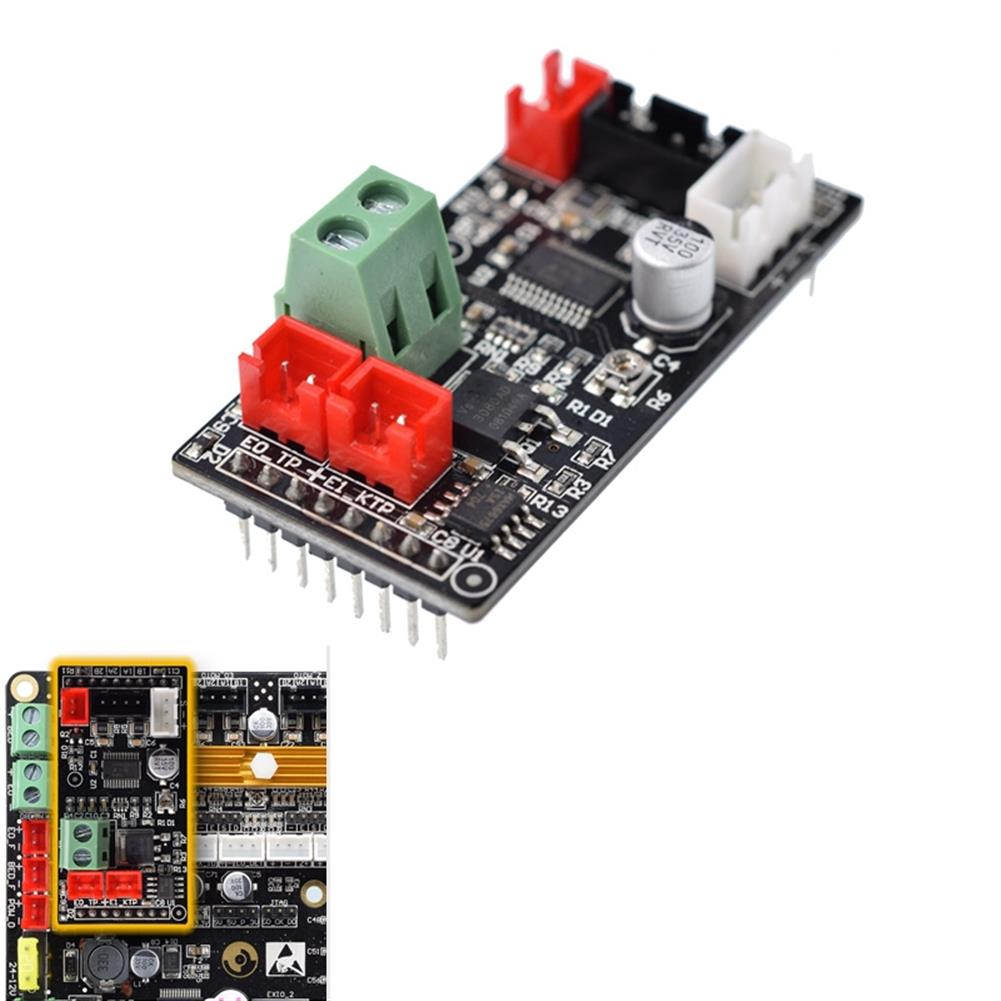 3d-printer-accessories Dlion thermal 120W 5A Dual Extruder Expansion Module for 2 Color Printing 3D Printer Parts HOB1354640 1