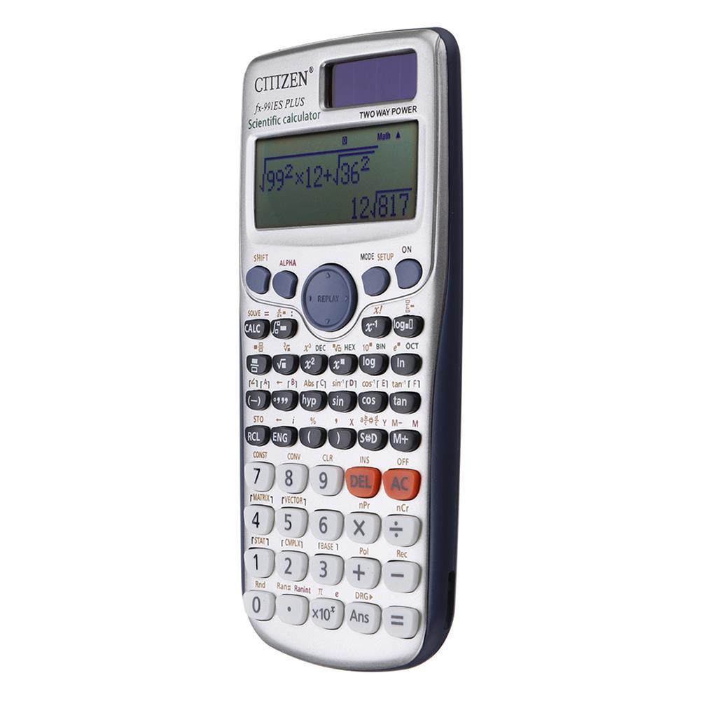 calculator GTTTZEN 991ES PLUS Scientific Calculator 417 Functions Student College Matrix Complex Equation HOB1356658 1 1
