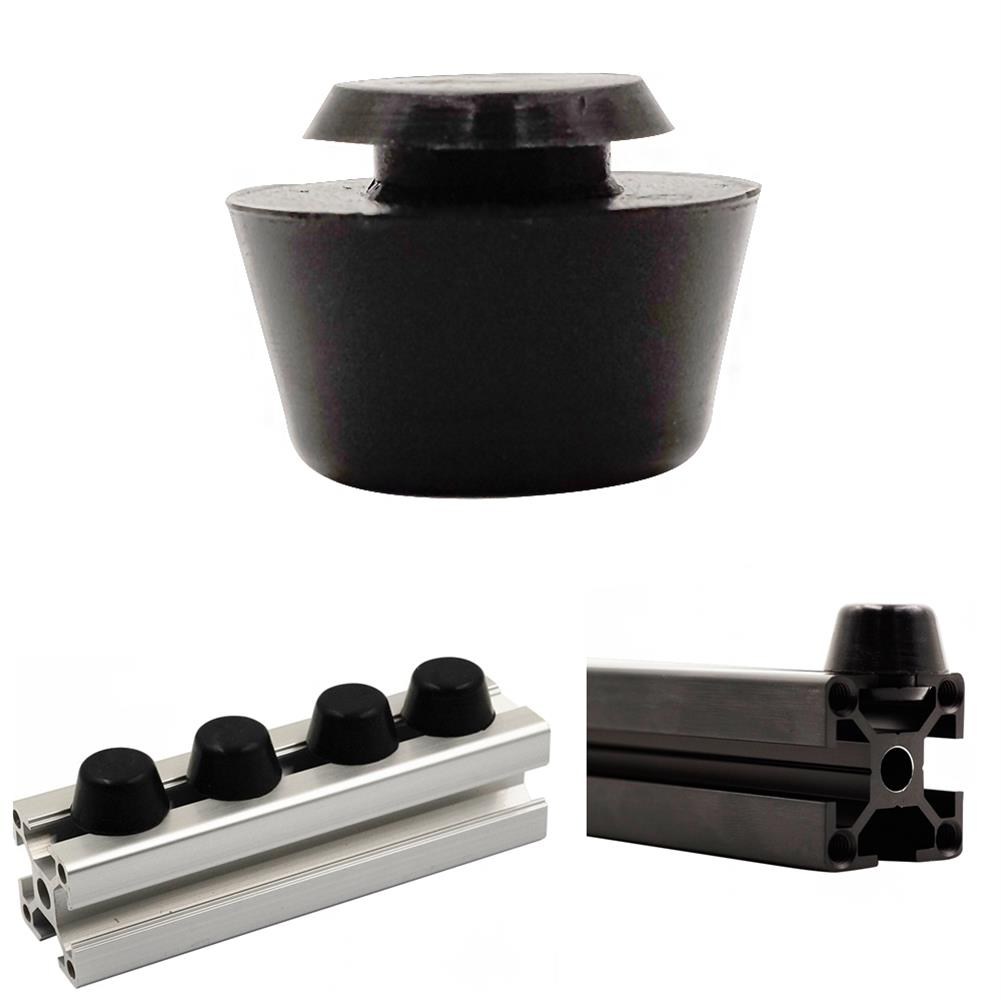 3d-printer-accessories 12pcs Anti Vibration Rubber Landing Mat Feet for 2020/3030 Profile 3D Printer Prusa I3 HOB1361220 1
