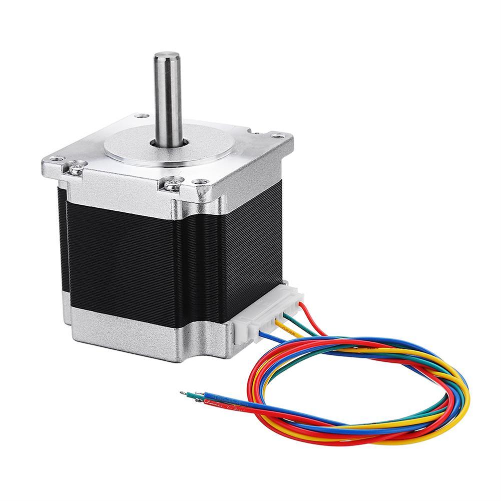 3d-printer-accessories Nema 23 23HS5628 2.8A 2 Phase 6.35mm Shaft Stepper Motor with TB6600 HOB1362157 1 1